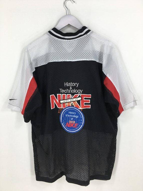 NIKE Sport Jersey Medium Vintage 90's Nike Swoosh