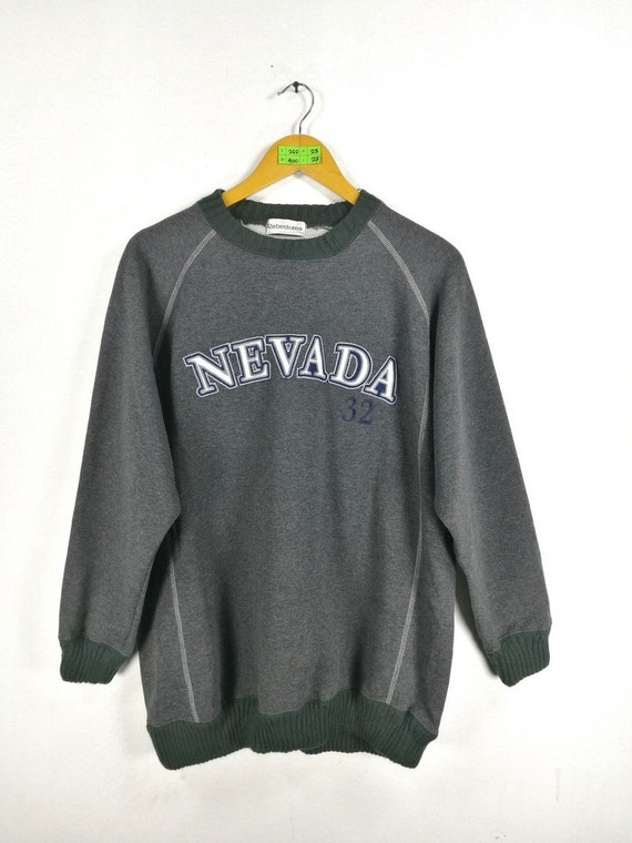 Vintage Nevada Las Vegas Jumper Sweater Xlarge Usa New York Etsy