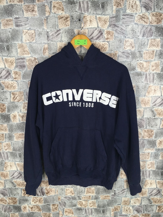 CONVERSE Jack Purcell Sweater Hoodie Women Medium All Star   Etsy 357c7a66e7