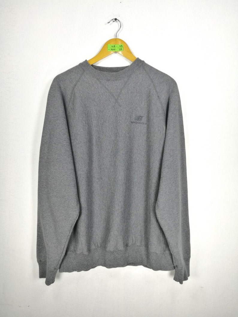79e0a95dcf6 NEW Balance Nb Sweater Jumper Large Vintage 80's New   Etsy