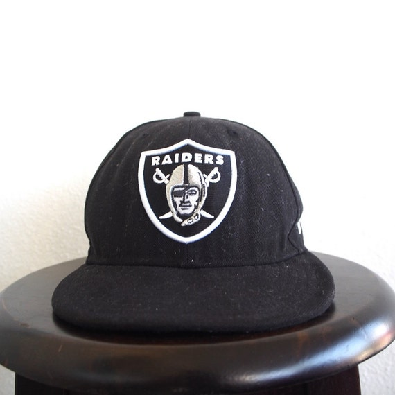 8e261890320 RAIDERS Snapback Hats Black Cap Vintage Nfl American Football