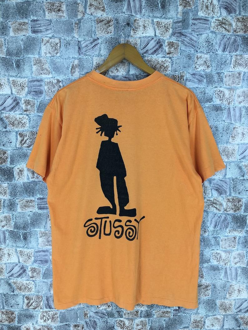 f8baf57a22 Vintage STUSSY Tshirt Large 90 s Stussy Usa Stussy Skaters