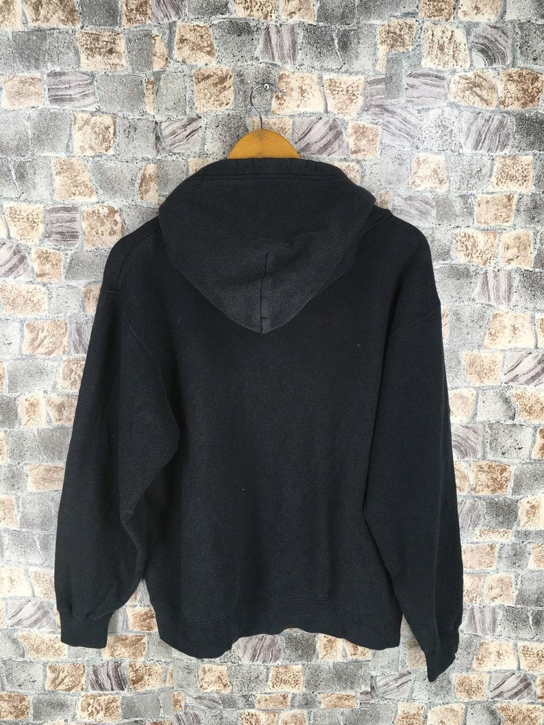 MINNIE MOUSE Sweatshirts Small Ladies Vintage 90/'s Mickey Mouse Pullover Cartoon Walt Disneyland Minnie Sweater Black Hoodie Size S