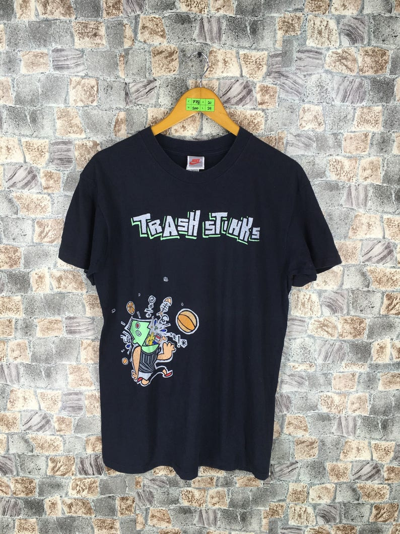 90a2242362e10c NIKE Thrash Stink T shirt Medium Vintage Space Jam Nike Nba