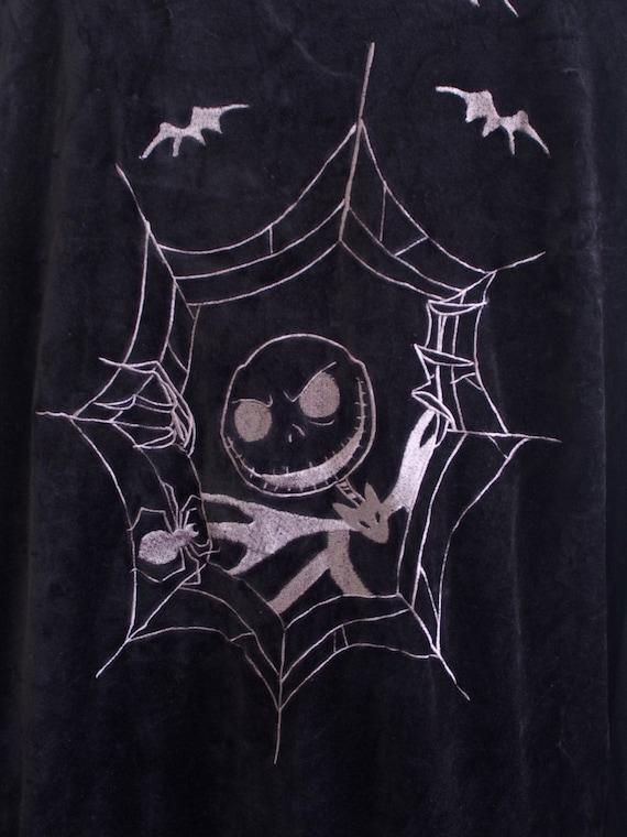 L Jacket Halloween Sukajan Jacket Embroidery Nightmare Disney Souvenir The 80's Before Size Vintage Christmas Vintage Japan XqYZOwW