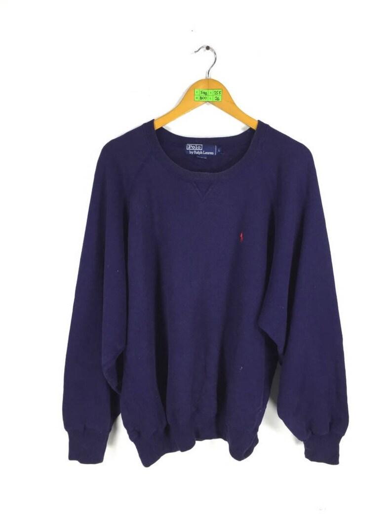e031f36a0de5 POLO RALPH LAUREN Roundneck Sweatshirt Large 90 s Vintage
