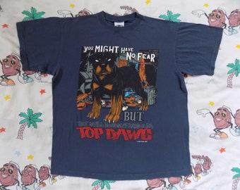 f4e9b51428 Vintage 90's Top Dawg T shirt, size Medium 1995 No Fear