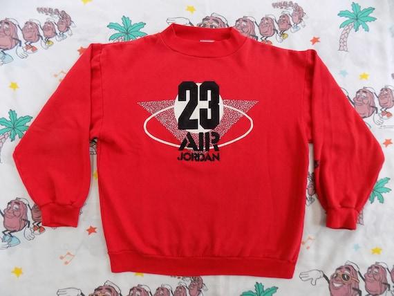 dab16505a9cc Vintage 90 s Nike Air Jordan 23 Pullover Sweatshirt size