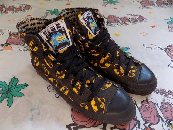 Vintage 80's Batman Converse Chuck