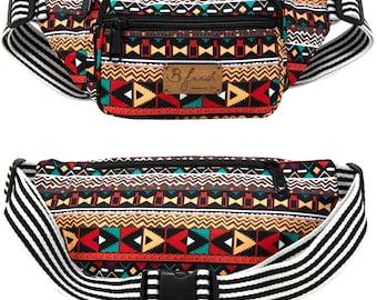Aztec Tribal Native Pattern Fanny Pack B Fresh Gear