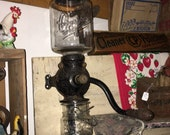 Antique Late 1800 39 s Early 1900 39 s Arcade Mfg Co. Crystal Wall Mount Coffee Grinder Number 3