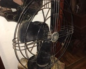 General Electric Fan 78X233 GE Antique, Art Deco, 1938 Made In USA, Works
