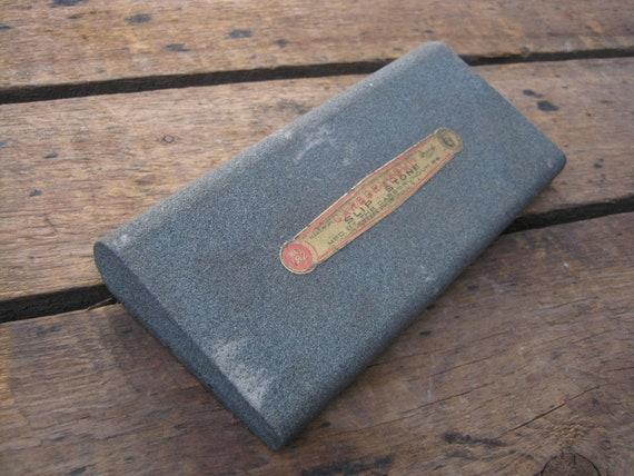 Vintage Carborundum No 182 Slip Stone for Tool Sharpening