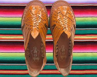 e0ccc789be2a WOMENS LEATHER HUARACHE Sandals made in mexico with tire sole  all sizes