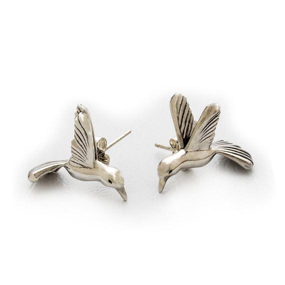 Unique Hummingbird Earrings