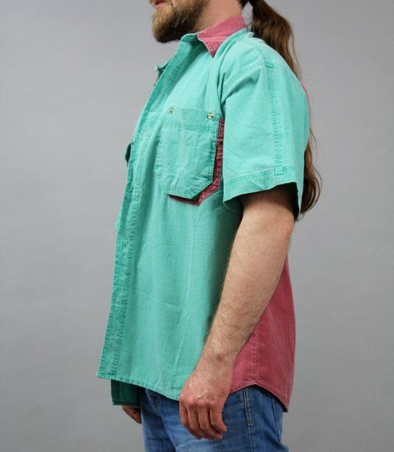 90 s vintage pour Casual homme plage d'été Casual pour chemise à manches courtes. Funny Beach Safari tropicale loisirs confortable Hipster Grunge Bowling Shirt. d46646