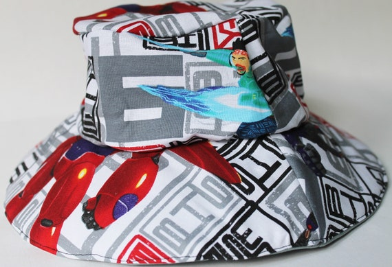 d520009ee28 Items similar to Big Hero 6 child s bucket hat on Etsy