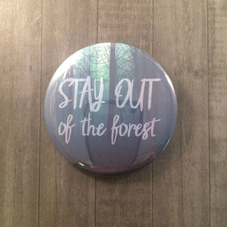 My Favorite Murder Pinback Button Magnet Cosmetic Mirror image 0