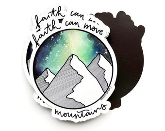Faith Can Move Mountains MAGNET Matthew 17:20