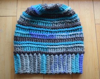 Icicle~ Inline Slouchy Beanie