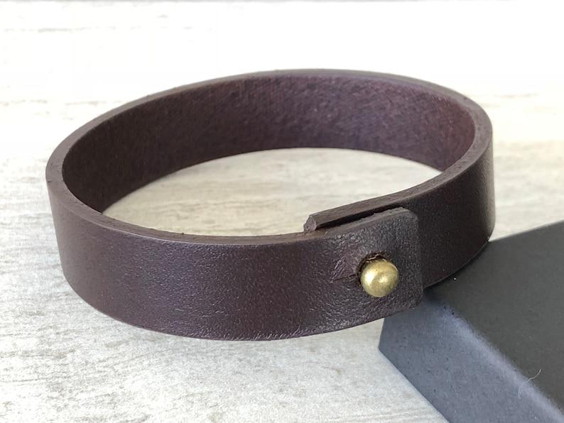 Men/'s Leather Bracelet Gifts for Men Men/'s Customized Bracelet Anniversary gift Ideas  Leather Wristband Hidden Message Wedding Groom Man