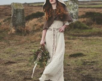 Pagan wedding dress etsy popular items for pagan wedding dress junglespirit Gallery