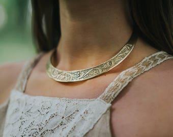 Celtic torc • Torc necklace • Viking torc • Nordic • Shieldmaiden  • viking necklace • Celtic necklace  • Metal torc • Celtic torc • Norse
