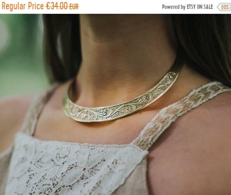 20%SALE Celtic torc  Torc necklace  Viking torc  Nordic  image 0