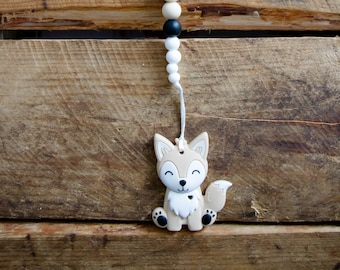 Puppy Teether, Pacifier Clip, Soother Clip