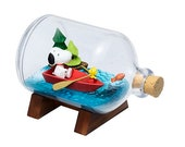 Peanuts Snoopy Terrarium On Vacation 4-Inch Rement Mini-Figure - 3