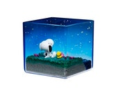 Peanuts Snoopy Terrarium On Vacation 4-Inch Rement Mini-Figure - 6