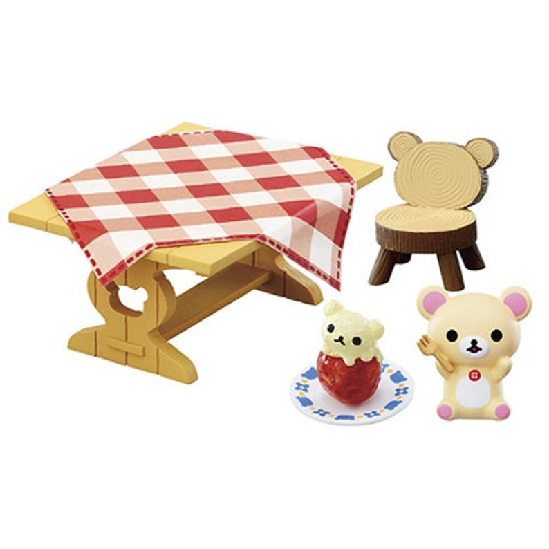 #8 San-X Rilakkuma Natural Life Shop Rement Miniature Doll Furniture