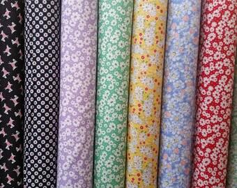 Moda 30's Playtime Fabric Bundle- 9 Fabrics