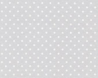 Timeless Treasures Dots - Dove - Fabric by the yard