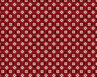 Oxford- Set Flower Brick, Fabric by the Yard