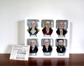 Avon Presidential Bust Series Bud Hastins Original Bottles Limited Edition of 1500