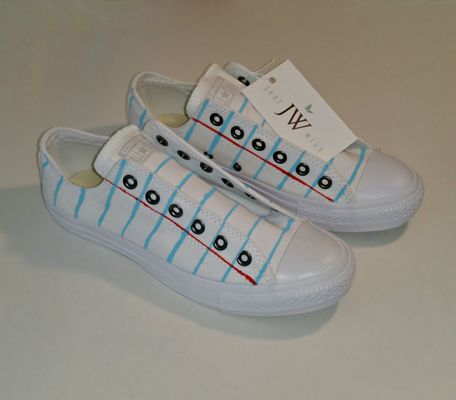 29cc13c176 Converse or Vans Notebook Paper Graphic© Shoes For Men and