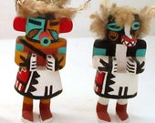 Kachina Dolls Wood Hand Painted Figures Unique Your Pick KD110