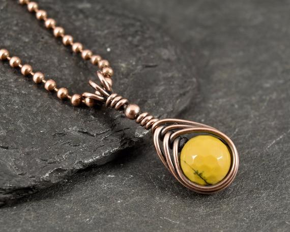 Mookaite Long Necklace w Pendant