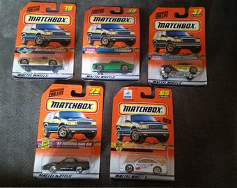 Matchbox Mattel Wheels Set Of Five