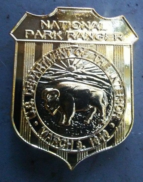 Replica National Park Service Badge (novelty)