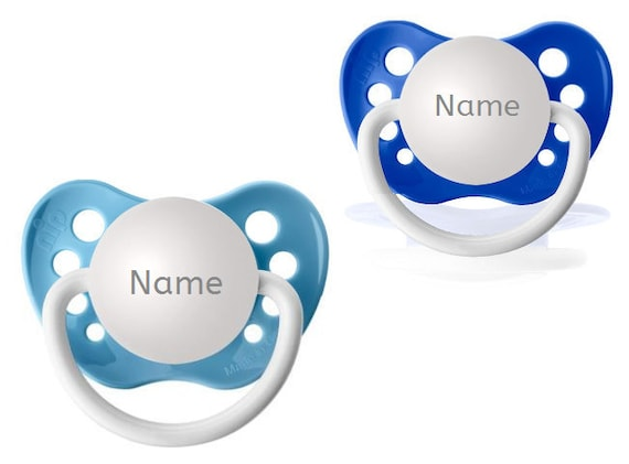 3 Personalized Pacifiers Orthodontic Pacifier Baby Boy Shower Gift Pick Size