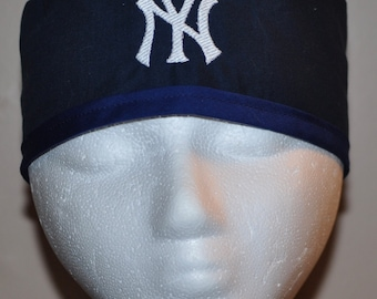 9c84917c67ec5 MLB NY Yankees New York Yankees Embroidered Men s Scrub Cap Hat - One Size  Fits Most