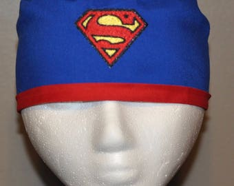 DC Comics Superman Superhero Embroidered Men s Scrub Cap Hat - One Size  Fits Most 1a848437ca18