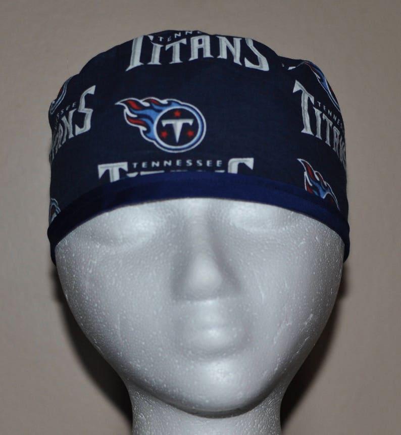 648b3d0c NFL Tennessee Titans - Men's Scrub Cap Hat - One Size Fits Most