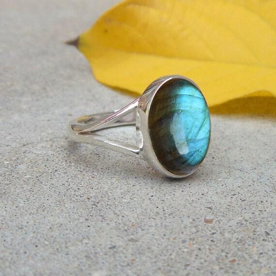 Valentinstag Ring Granat Edelstein 925 Sterling Silber Schmuckgröße Wählen Sie