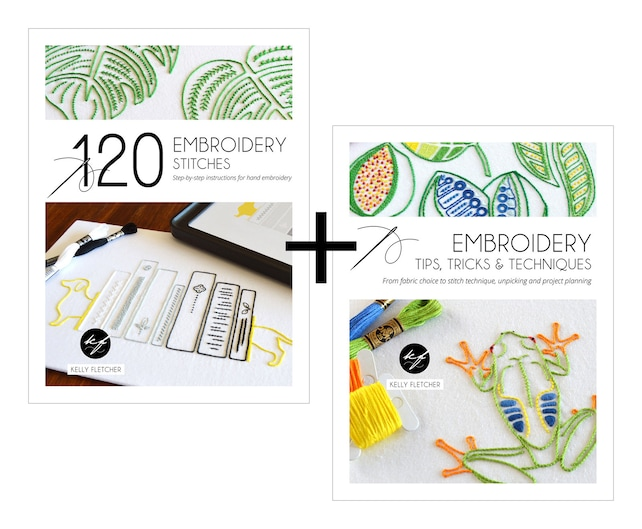 120 Embroidery Stitches Embroidery Tips Tricks Techniques Etsy