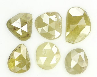 0.37cts 4.5mm Round Fancy Tinted Yellow Natural Loose Diamonds for Ring Pendant Jewelry April Birthstone Free Shipping