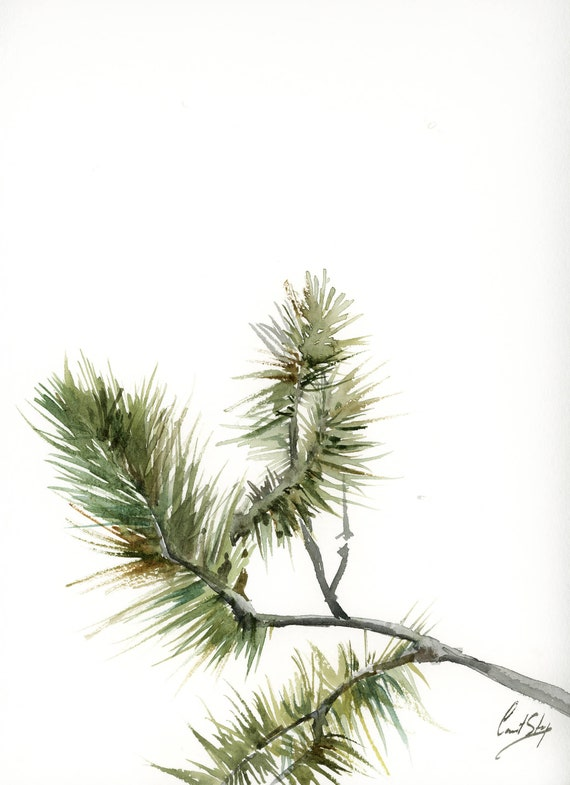 Minimalist Pine Tree