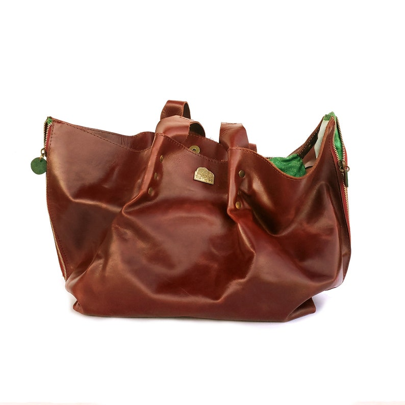 Shopping Handbag   Leather handbags handmade image 0